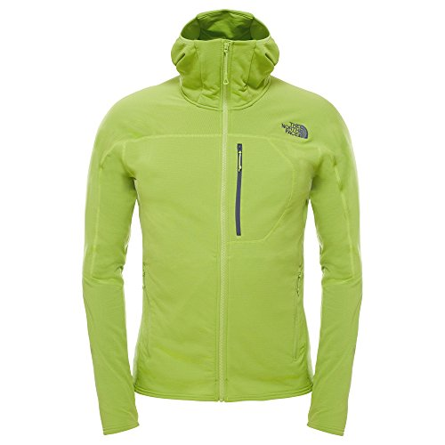 North-Face-Herren-Fleecejacke-M-Incipient-Hooded-Jacket-Macaw-Green-XL-0706421232845