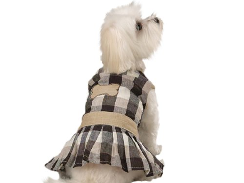 Eco Friendly Natural Cotton Dog Dress