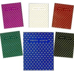 """Pioneer Flexible Cover Series Bound Photo Album, Designer Color Covers, Holds 24 5x7"""" Photos, 1 Per Page. Color: Assorted."""