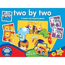 Two By Two Memory Game by Orchard Toys
