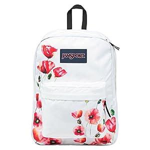JanSport Superbreak Backpack (One Size, Multi California Poppy)