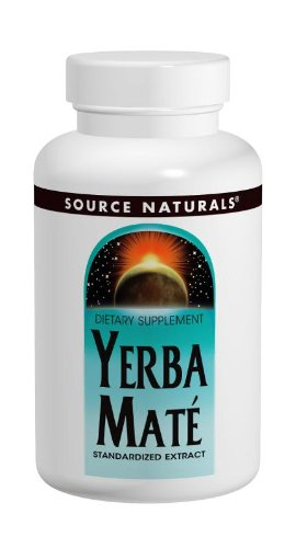 Source Naturals Yerba Mate 600Mg, 90 Tablets