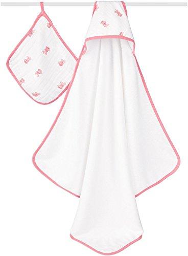 aden + anais Hooded Towel Set - Bathing Beauty - 1
