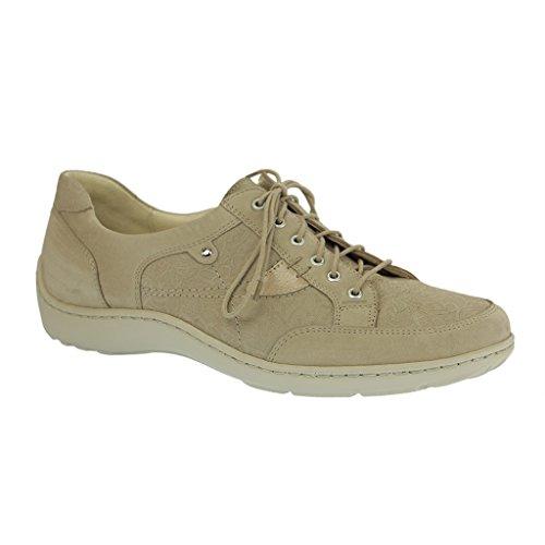 Wald fangpyre 496023 305 donna Derby laccio semi scarpe., Beige (beige), 40.5