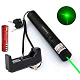 Green Lazer Pointer High Power Pen 532nm Pet Toy Visible Beam with Charger and Battery