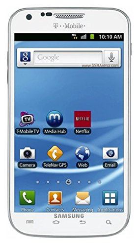 Samsung SGH-T989 Galaxy S II 16GB White Android Phone - T-Mobile (Straight Talk Samsung Galaxy Sii compare prices)