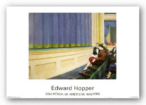 First Row Orchestra, 1951 by Edward Hopper 19.5