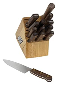 Chicago Cutlery Walnut Tradition 14-Piece Block Set
