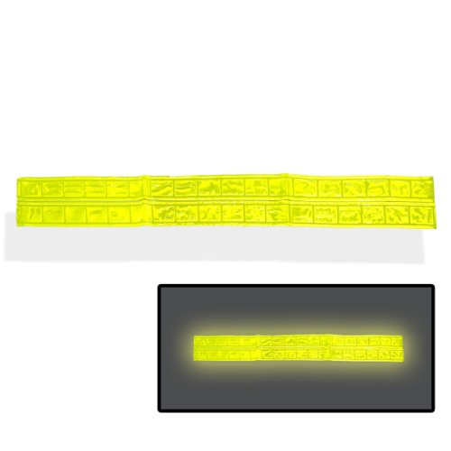 2pc Super-Reflective Safety Stripe Tape - X-Strong Self Adhesive
