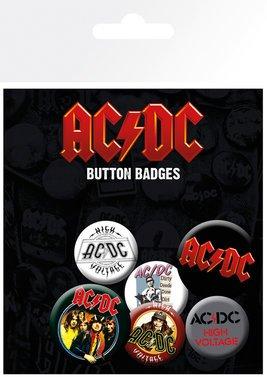 GB Eye, AC/DC, Mix, Set di spille,