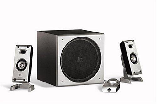 Logitech Z-3e 3 Piece Speaker Black 40 Watt Rms