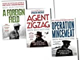Ben Macintyre Ben Macintyre 3 Books The True Story Collection Pack Set RRP: £27.88 (Operation Mincemeat: The True Spy Story that Changed the Course of World War II, Agent Zigzag: The True Wartime Story of Eddie Chapman: The Most Notorious Double Agent o