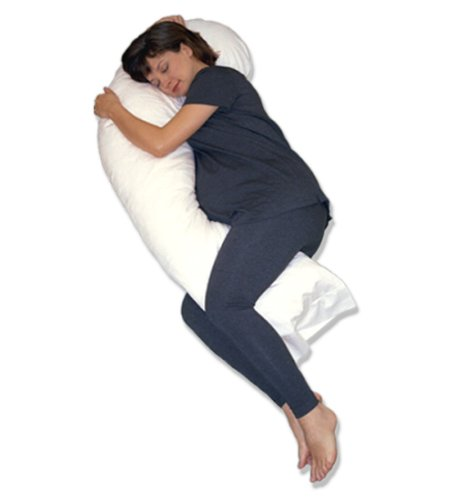 Snoozer Full Body Pillow Hypoallergenic Synthetic Fiber Filler
