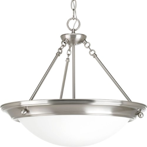 B00BBM0LZK Progress Lighting P3573-09 Med Inverted Pendant, 3-100-watt