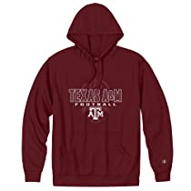 Texas A&M Football Performance Hooded Sweatshirt - 2XL - maroon