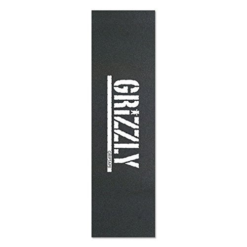 "Diamond Bear Grizzly Skateboard Grip Tape 9"" x 33"" Blue Red"