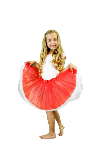 Red Baby Tutu front-123280