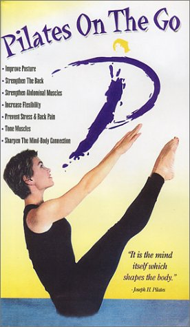 Pilates On The Go (No mat or accessories included) [VHS]