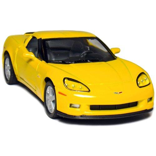 "5"" 2007 Chevy Corvette Z06 1:36 Scale (Yellow)"