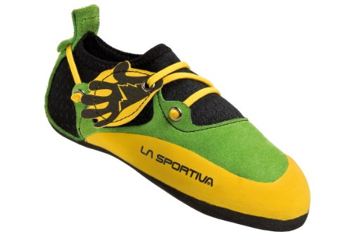 La-Sportiva-Stickit-climbing-shoe-Children-yellowgreen-Size-34-35-2016-climbing-shoe