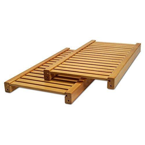 John Louis Home JLH-570 Standard Adjustable Shelves Kit, Honey Maple