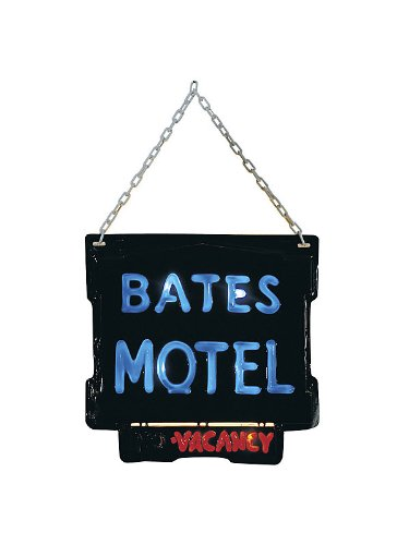 Psycho, Collector Bates Motel Sign front-493907