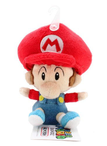 5-Official-Sanei-Baby-Mario-Soft-Stuffed-Plush-Super-Mario-Plush-Series-Plush-Doll-Japanese-Import