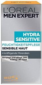 L'Oréal Paris Men Expert Hydra Sensitiv Männer Tagespflege, 50ml