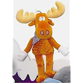 Bullwinkle J Moose 11 inch Plush Toy
