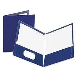 OXF51743 - Oxford Laminated Twin Pocket Folders