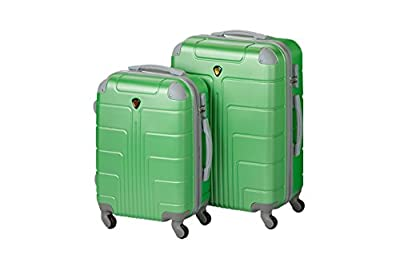 Sizeoßstadtkoffer Hard Shell Luggage Set New York 2-Piece Set Size L + Xl, 65 + 75 Cm, 85 + 130 Litre Sizeeen from Großstadtkoffer