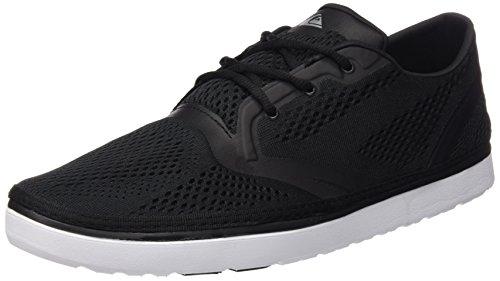 Quiksilver Herren AG47 Amphibian Shoes, Scarpe da Ginnastica Basse Uomo, Nero (Black/Black/White Xkkw), 45 EU