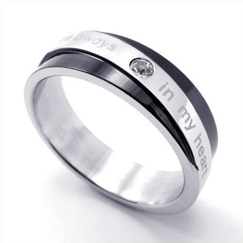 Mariage Alliance - Acier Inoxydable - Anneaux - Fantaisie - pour Homme ...