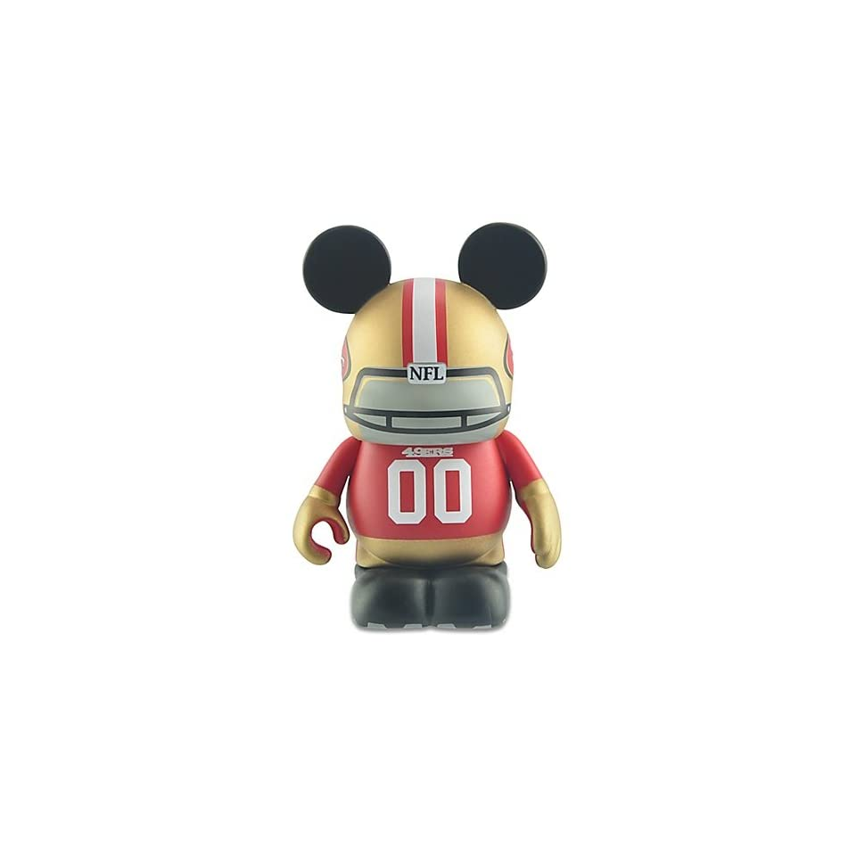 Disney Vinylmation National Football League NFL San Francisco 49ers 3 Inch Vinyl Figure
