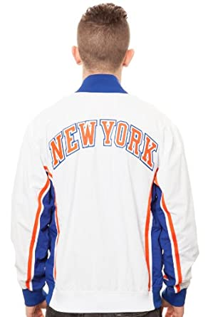 Mitchell & Ness New York Knicks Warm Up Jacket by Mitchell & Ness