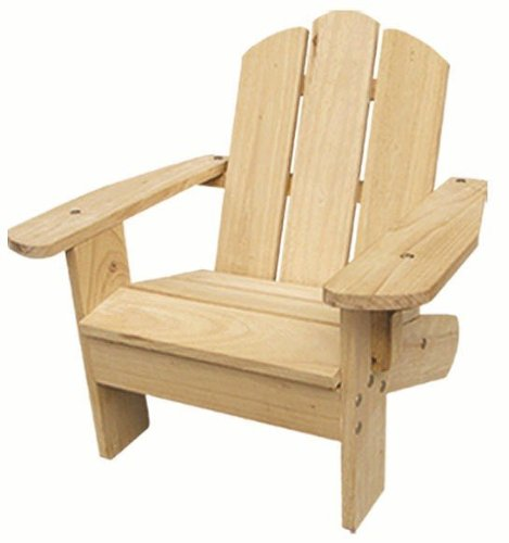 ODM Products Ltd. MM20101 Lohasrus Kids Adirondack Chair in Natural- MM20101