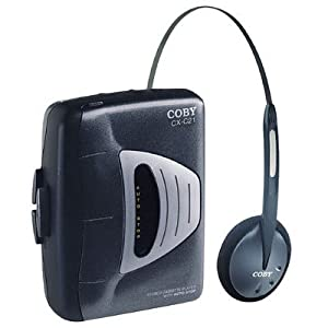 COBY CX-C21 Stereo Cassette Player