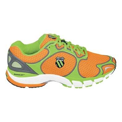 Buy K-Swiss California R Mens Running Shoe - Neon Orange Neon Lime Charcoal by K-Swiss