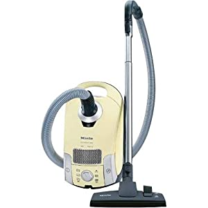 Miele : S4210 Carina Canister Vacuum Cleaner - Melon Yellow