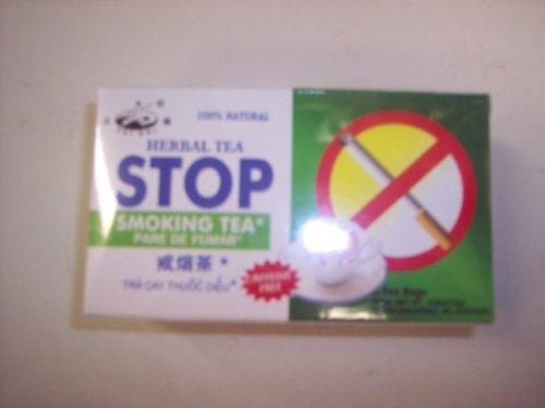 Tai Chi-Herbal Tea Stop Smoking Tea(Caffeine Free)-12 Tea Bags(0.8 Oz)
