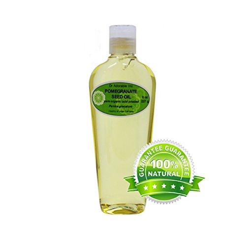 100 % Pure Organic Pomegranate Seed Oil Cold Pressed 8 Oz