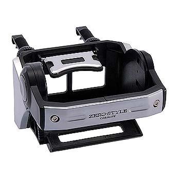 カーメイト(CARMATE) ZERO STYLE ドリンクホルダー シルバー/ブラック ZS102
