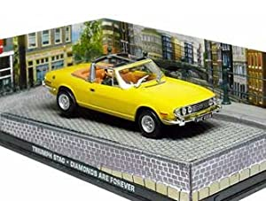 Triumph Stag Diecast Model Car from James Bond Diamonds Are Forever