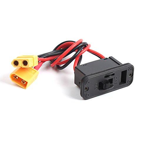 Hobby-Fun Heavy Duty faisceau du commutateur Grand Power Switch avec XT60 mâle / femelle et intégrée Prise de charge