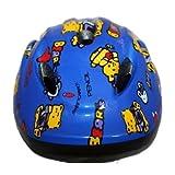 選べる2色♪ キッズ 用 自転車 ヘルメット L サイズ (ブルー)
