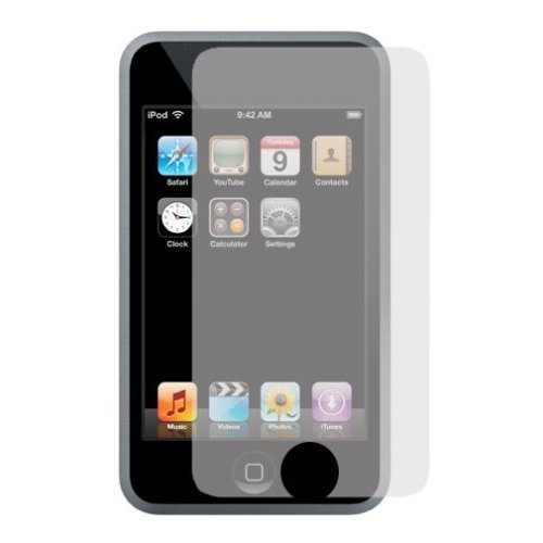 3G 3GS Iphone Anti-glare Screen Protector with Lint Cleaning Cloth(Single Pack)