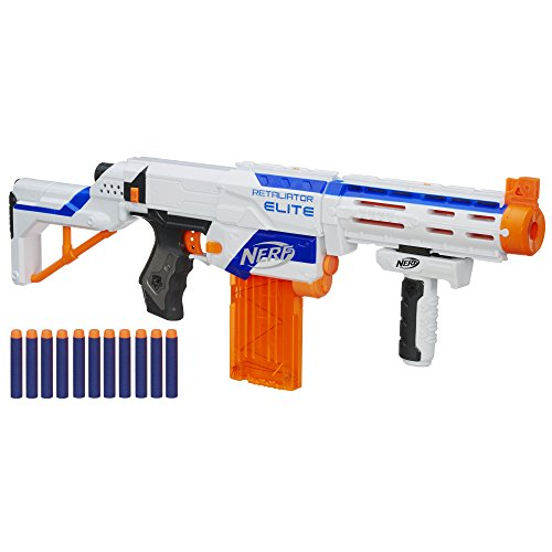 Nerf N-Strike Elite Retaliator Blaster (Colors May Vary) (Nerf Gun For Boys compare prices)