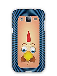 YuBingo Funny Moustache Face Mobile Case Back Cover for Samsung Galaxy J2