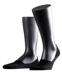Falke Step 1 Pair Men\'s Invisible Shoe Liners (11-12, Black)