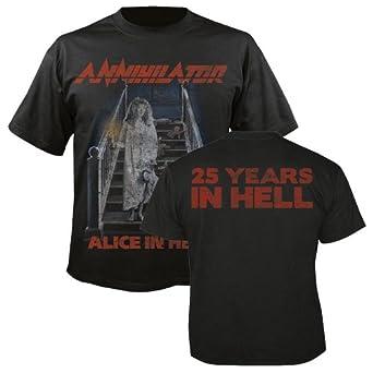 ANNIHILATOR - 25 Years in Hell - T-Shirt Größe M